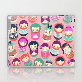 Babushka Russian doll pattern Laptop & iPad Skin
