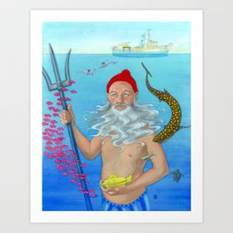 Ruler of the Deep Art Print