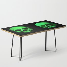 Skull quartet green Coffee Table