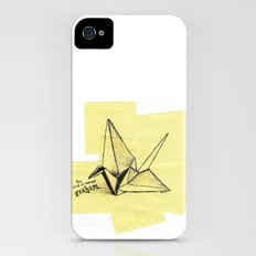this bird is named graham Slim Case iPhone (4, 4s)