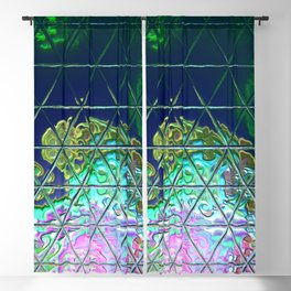 Triangle Glass Tiles 51 Blackout Curtain