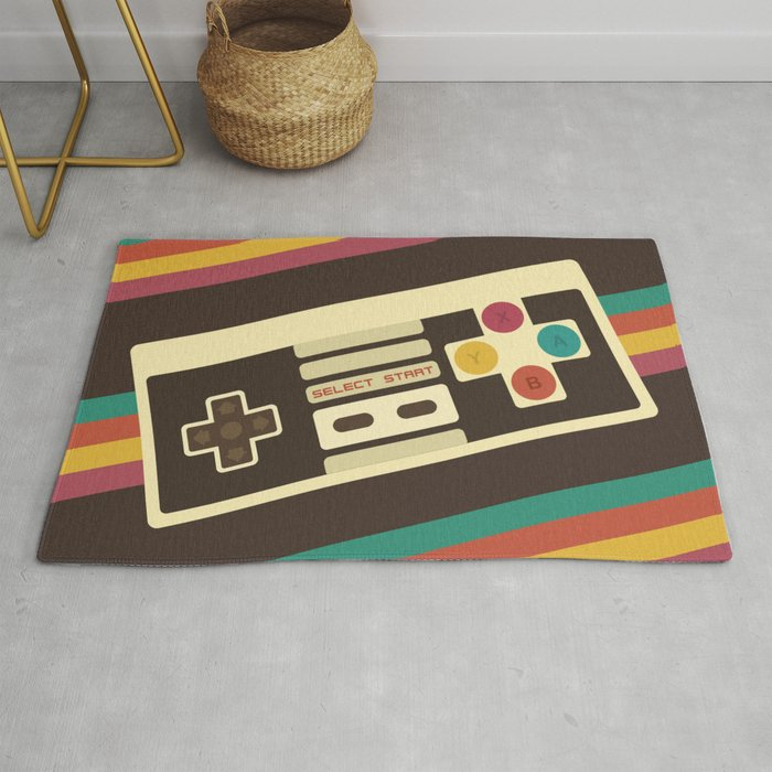 Retro Video Game 2 Rug