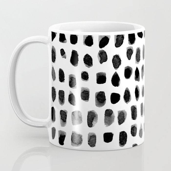Watercolor Dots Coffee Mug