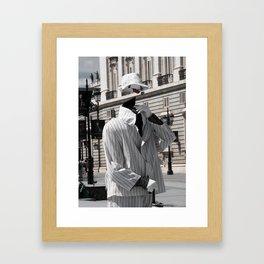Invisible Man  Framed Art Print
