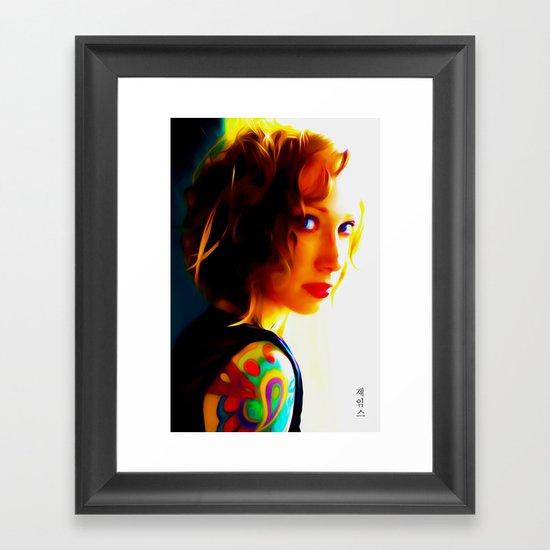 Noticed Framed Art Print