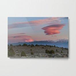Sierra Sunset  Metal Print