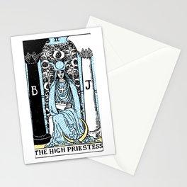 Geometric Tarot Print - The High Priestess Stationery Cards