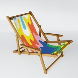 Psychedelic Meltdown Sling Chair