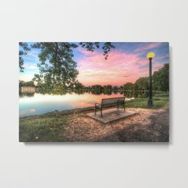 Smith Lake, Washington Park - Denver, CO Metal Print