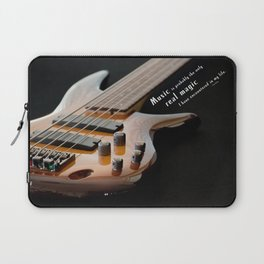 Music is Real Magic Laptop Sleeve