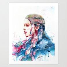 Dragonqueen Art Print
