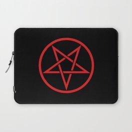 Satanic Pentagram (blood edit) Laptop Sleeve