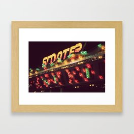 All The Pretty Lights - I Framed Art Print
