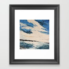 Breakwaters Framed Art Print