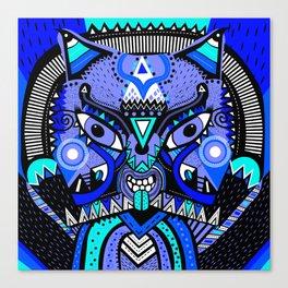 LISHKA BLUE Canvas Print