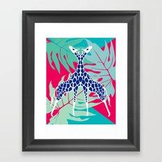 Jungle Love Framed Art Print