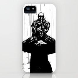 Black Spider-Man iPhone Case