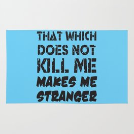 Makes Me Stranger Rug