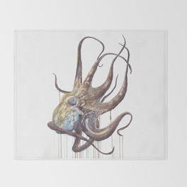 He'e - Octopus Throw Blanket