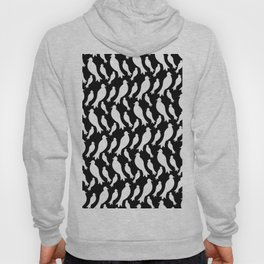 Black and White Crows Hoody