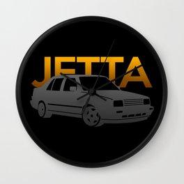 Volkswagen Jetta Wall Clock