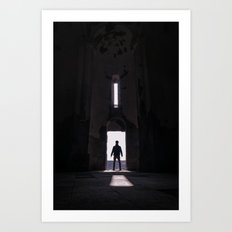 A new discovery Art Print