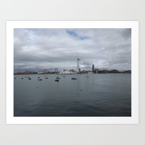 Spinnaker Tower, Portsmouth UK Art Print