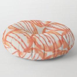 O-range Lanterns Floor Pillow