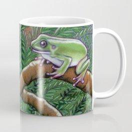 Elf & Treefrogs in Moonlight Coffee Mug
