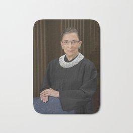 Ruth Bader Ginsburg Bath Mat