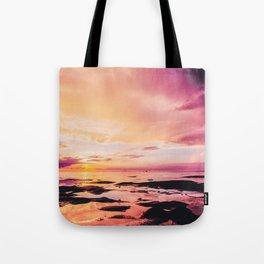 Maldivian sunset 4 Tote Bag