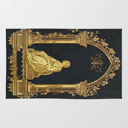Woman in Gold Book Cover Rug