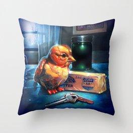 Butter Chicken Throw Pillow