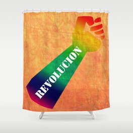 Sexual Revolution Shower Curtain