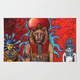 Memphite Triad by Nefertara Rug