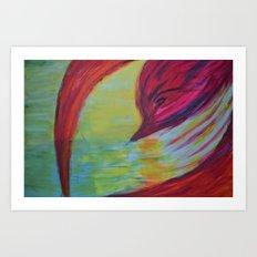 The Bird. Art Print