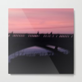 Ghosts at Sunset. Metal Print