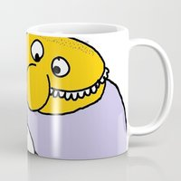 eat Mugs featuring Eat Eat by wof!