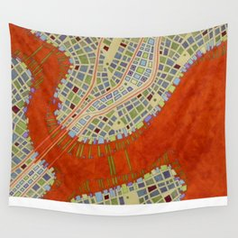 cypher number 13 (ORIGINAL SOLD). Wall Tapestry