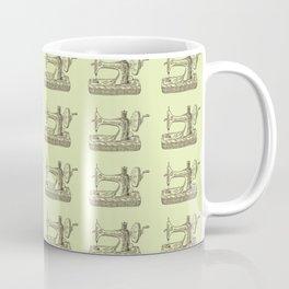 Sewing Vintage Machine Needle Retro Pattern Coffee Mug