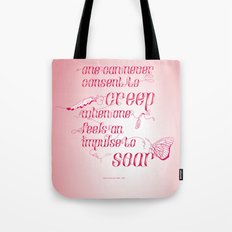 Be who you are... - pink Tote Bag