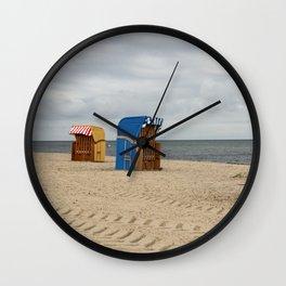 Baltic Winter Wall Clock