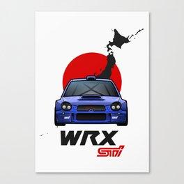 '02 ProDrive WRX STi Canvas Print