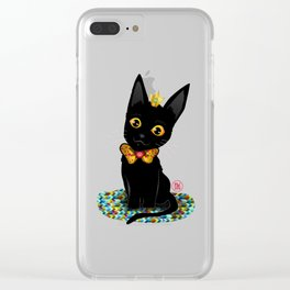 Your Majesty the Cat Clear iPhone Case