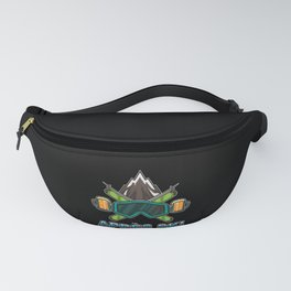 Apres Ski Team - Skiing And Snowboarding Fanny Pack