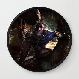 League of Legends YASUO Wall Clock