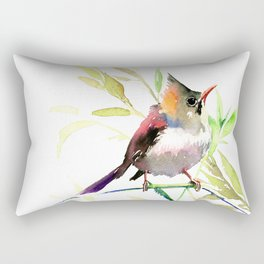 Bird art Rectangular Pillow