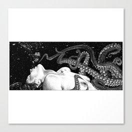 asc 789 - L'amant sans peine aucune (Talented lover) Canvas Print