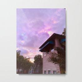 Euphoria Sunset Metal Print
