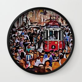 A Day in Istanbul Wall Clock